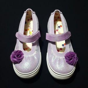 NEW Morgan & Milo girls' Mary Jane sneakers
